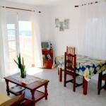Salón Comedor Terraza Apartamentos Míriam · Charzo Azul · La Palma · Islas Canarias