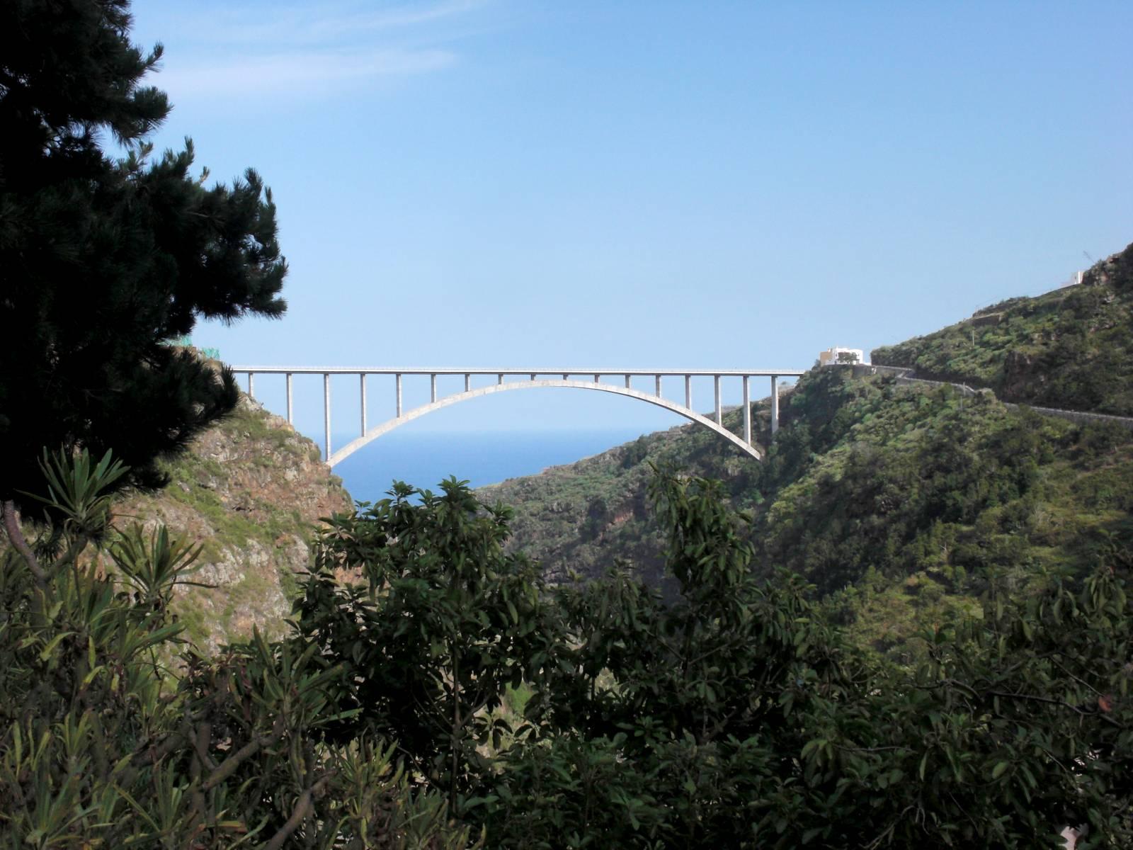 Puente de Los Tilos · Apartamentos Míriam · Charco Azul · La Palma · Islas Canarias