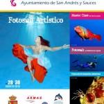 Cartel Concurso de Fotografía Submarina Open Fotosub Charco Azul 2014