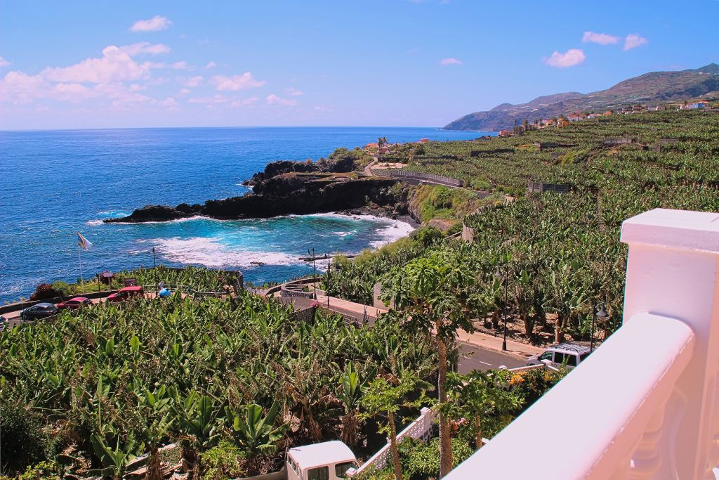 Terraza con vistas al mar · Apartamentos Míriam · La Palma · Islas Canarias